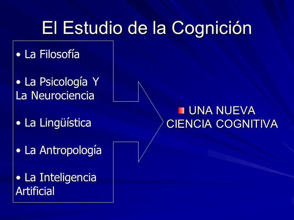 El Estudio de la Cognición