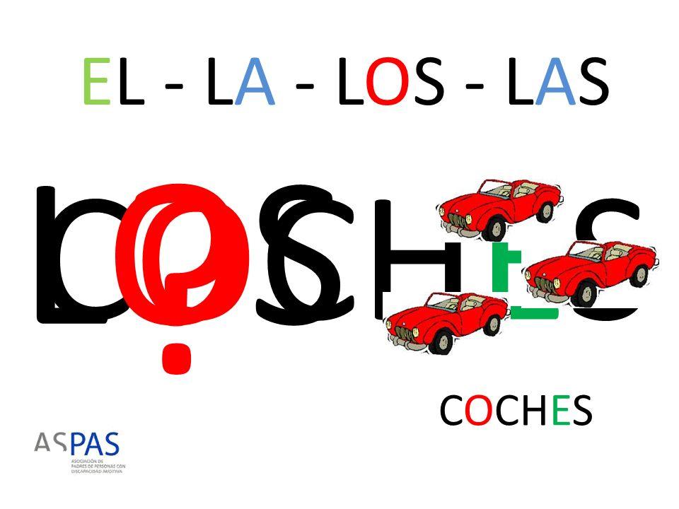 EL - LA - LOS - LAS LOS COCHES COCHES