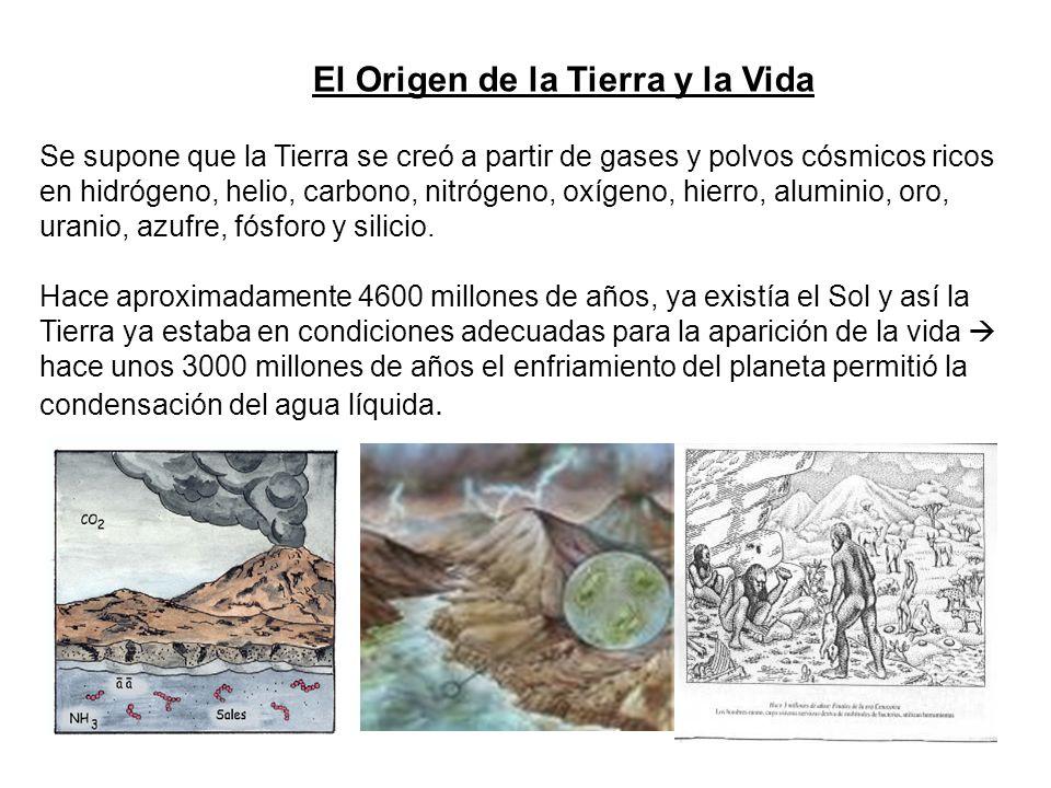 El Origen de la Tierra y la Vida