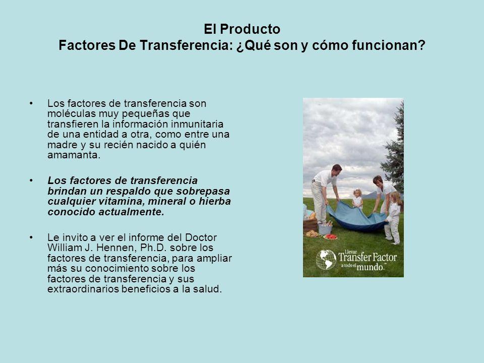 El Producto Factores De Transferencia: ¿Qué son y cómo funcionan