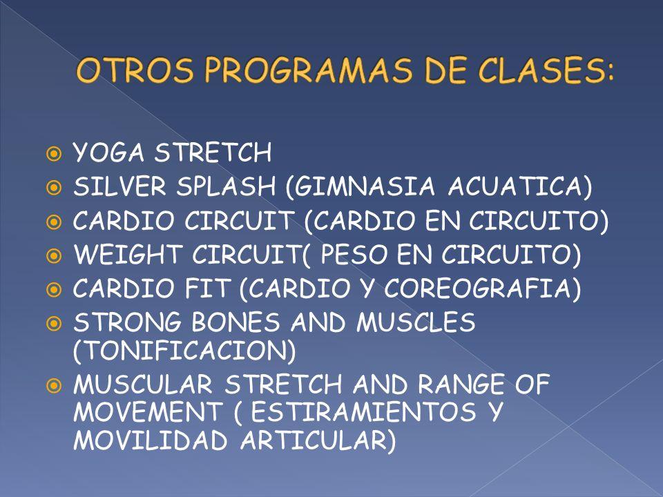 OTROS PROGRAMAS DE CLASES: