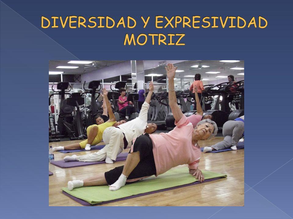 DIVERSIDAD Y EXPRESIVIDAD MOTRIZ