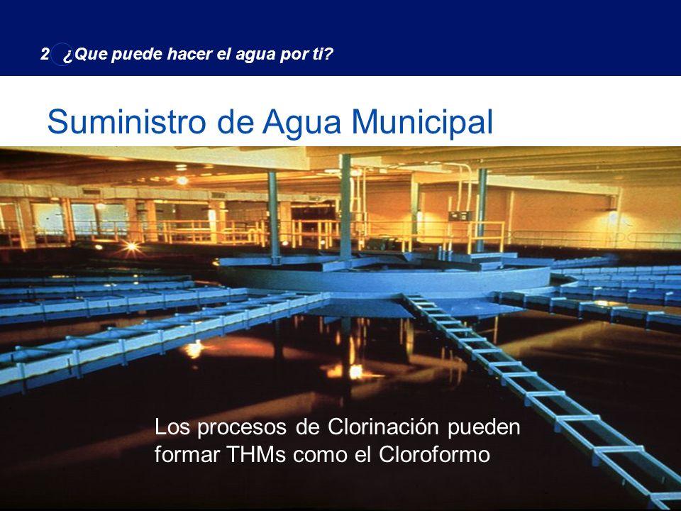 Suministro de Agua Municipal