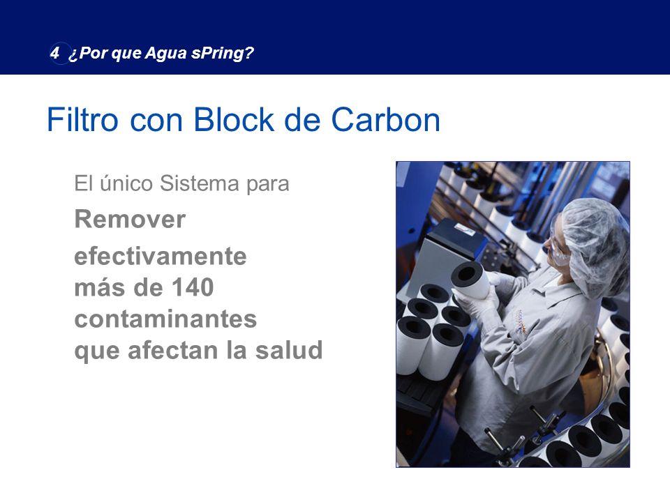 Filtro con Block de Carbon