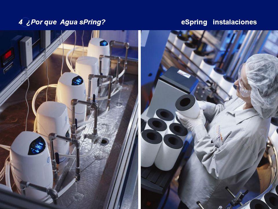 4 ¿Por que Agua sPring eSpring instalaciones