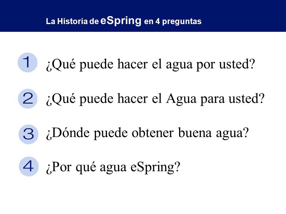 La Historia de eSpring en 4 preguntas