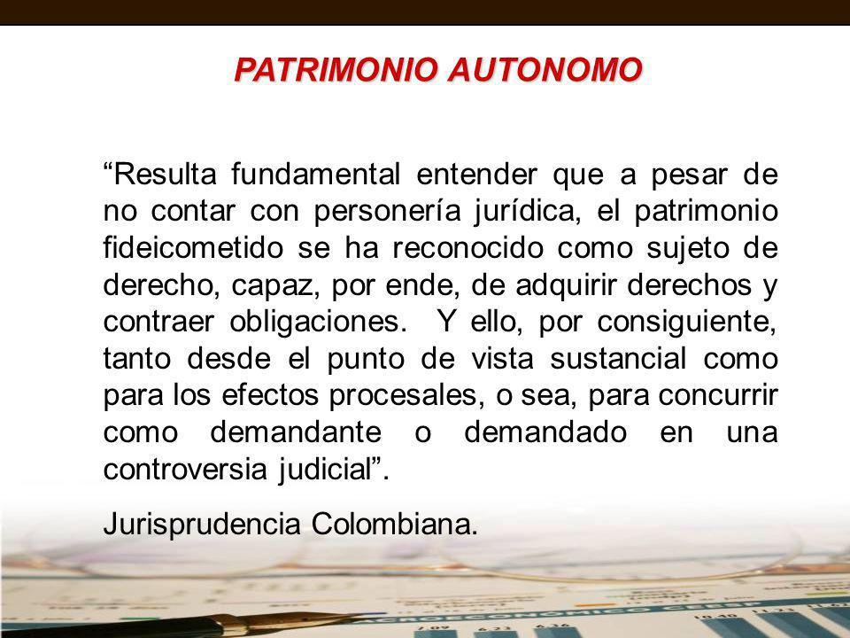 PATRIMONIO AUTONOMO