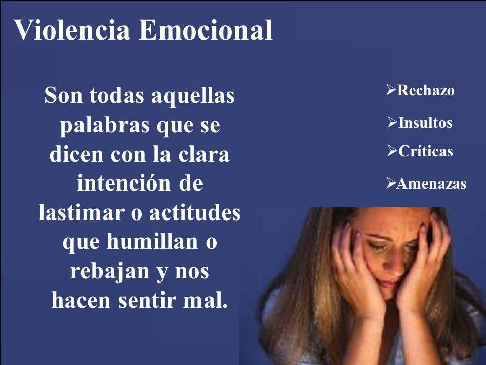 Violencia Emocional