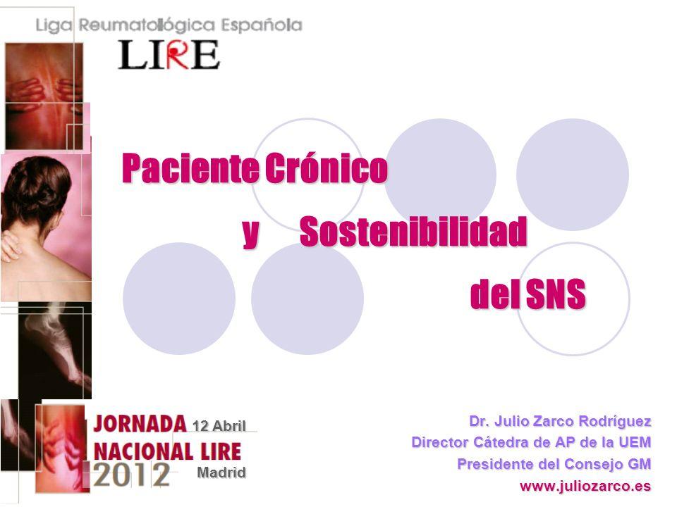 Paciente Crónico y Sostenibilidad del SNS