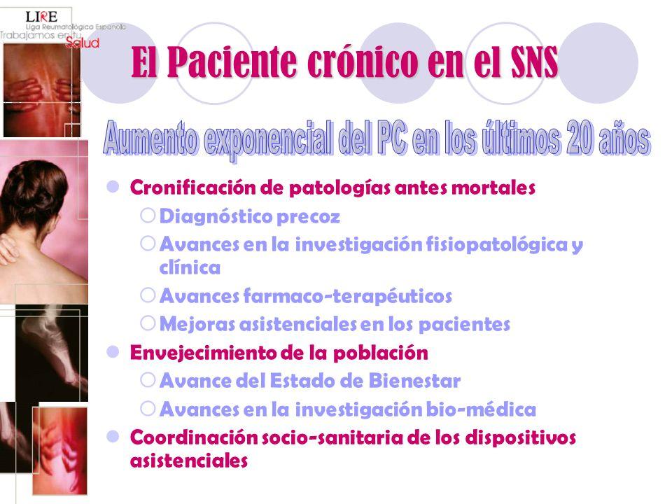 El Paciente crónico en el SNS