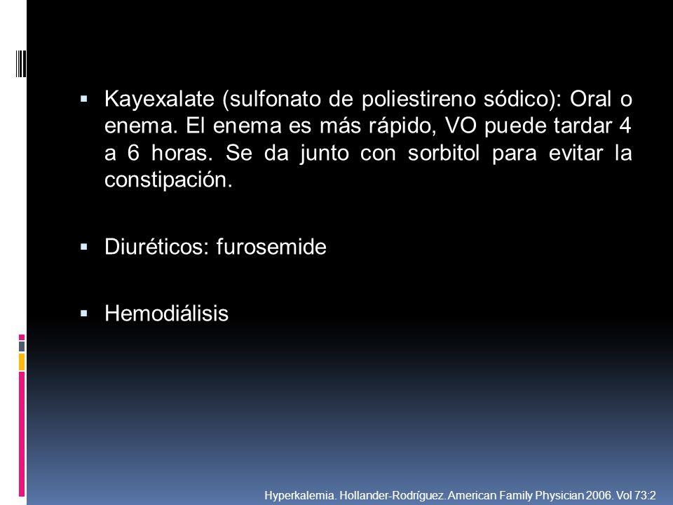 Diuréticos: furosemide