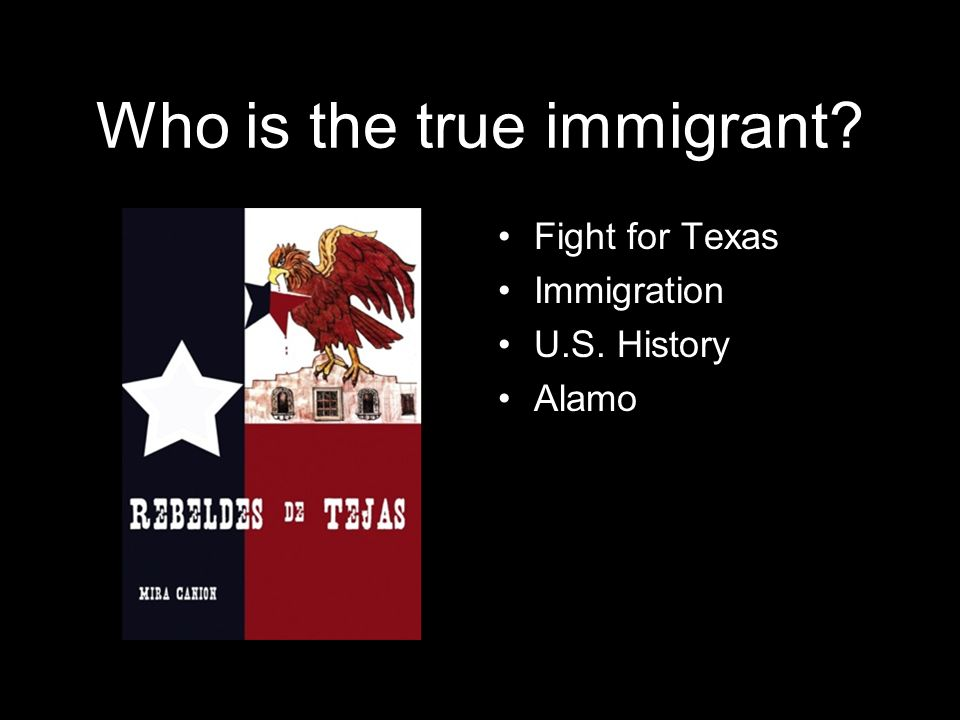 Who is the true immigrant