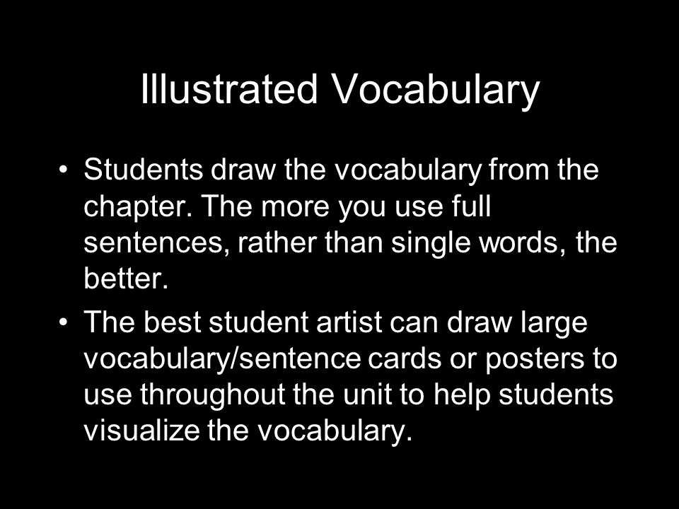 Illustrated Vocabulary