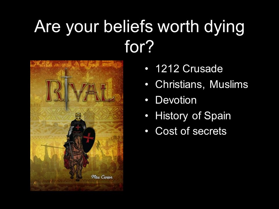 Are your beliefs worth dying for