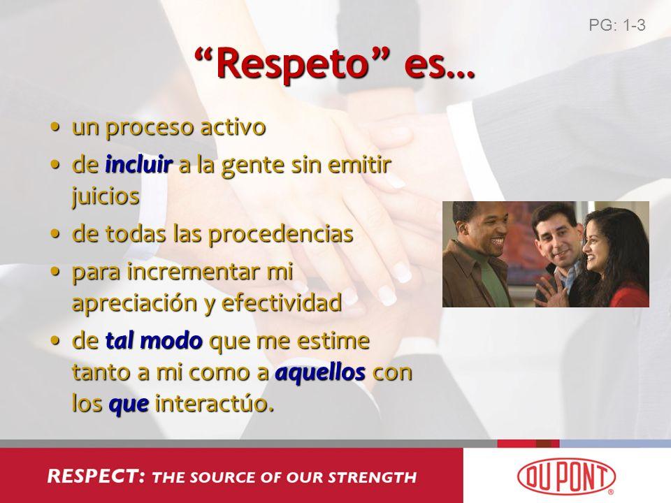 Respeto es… un proceso activo