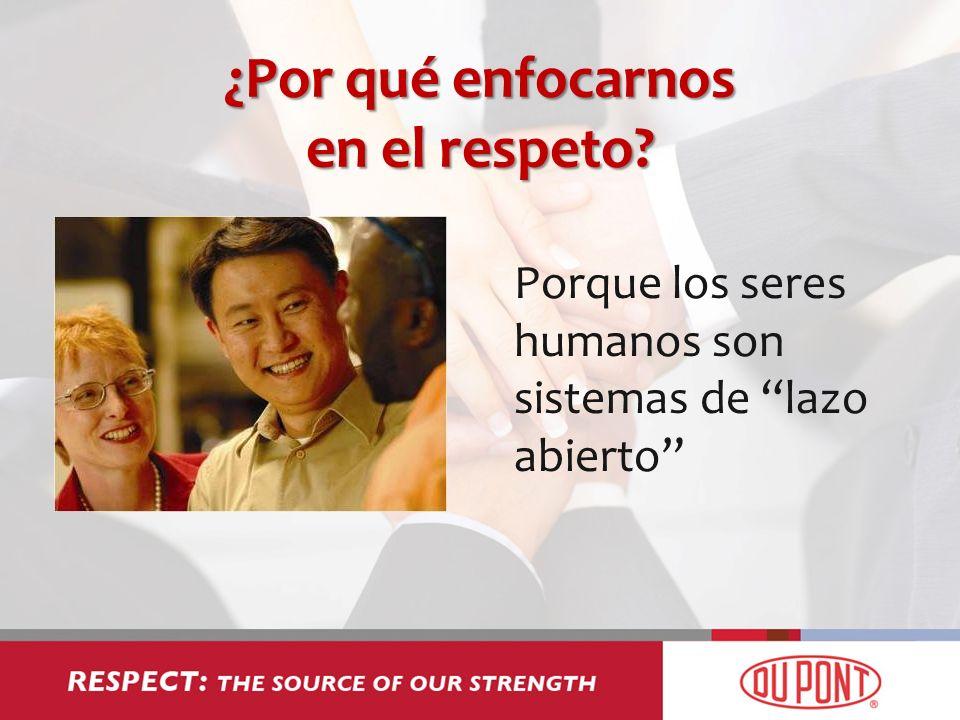 ¿Por qué enfocarnos en el respeto