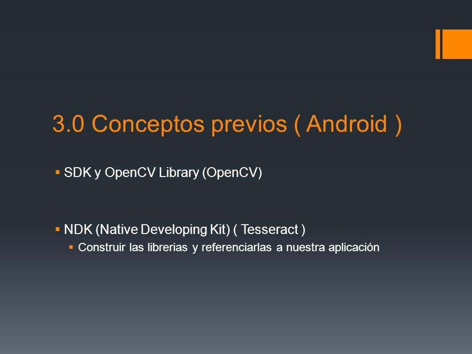 3.0 Conceptos previos ( Android )