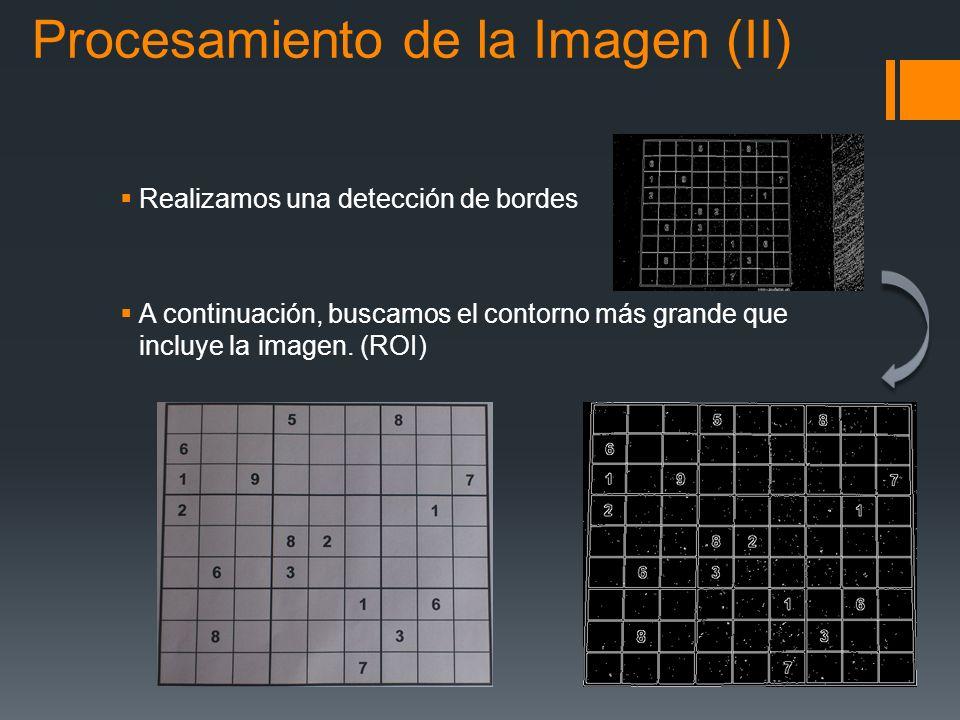 Procesamiento de la Imagen (II)