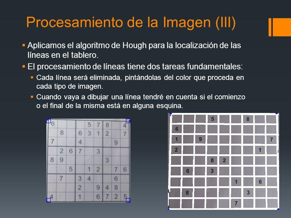 Procesamiento de la Imagen (III)