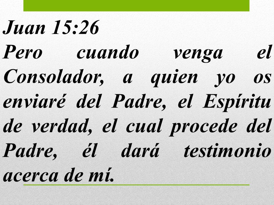 Juan 15:26