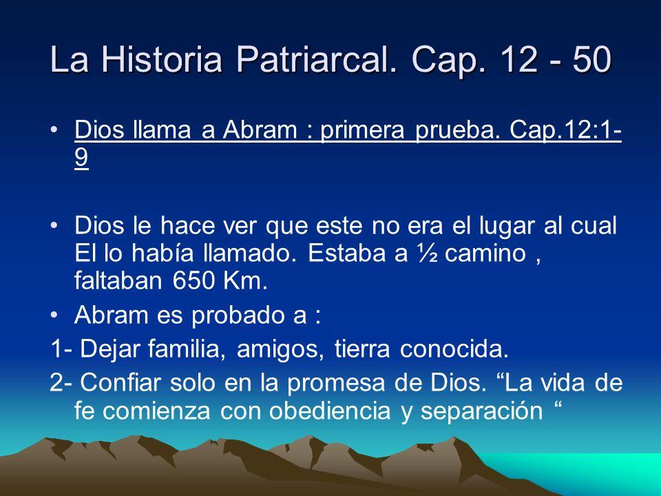 La Historia Patriarcal. Cap. 12 - 50