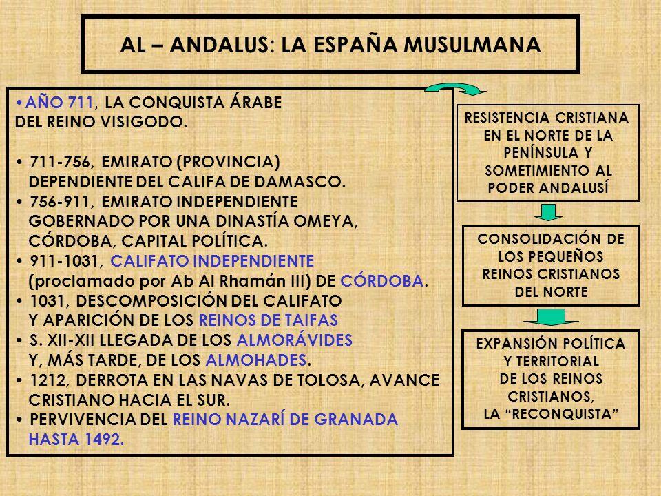 AL – ANDALUS: LA ESPAÑA MUSULMANA