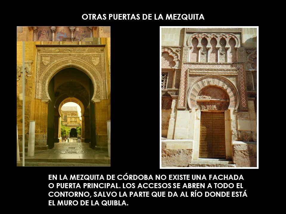 OTRAS PUERTAS DE LA MEZQUITA