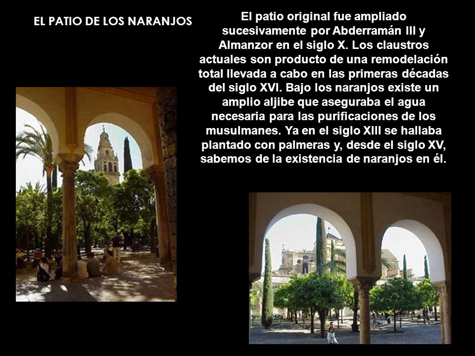 EL PATIO DE LOS NARANJOS
