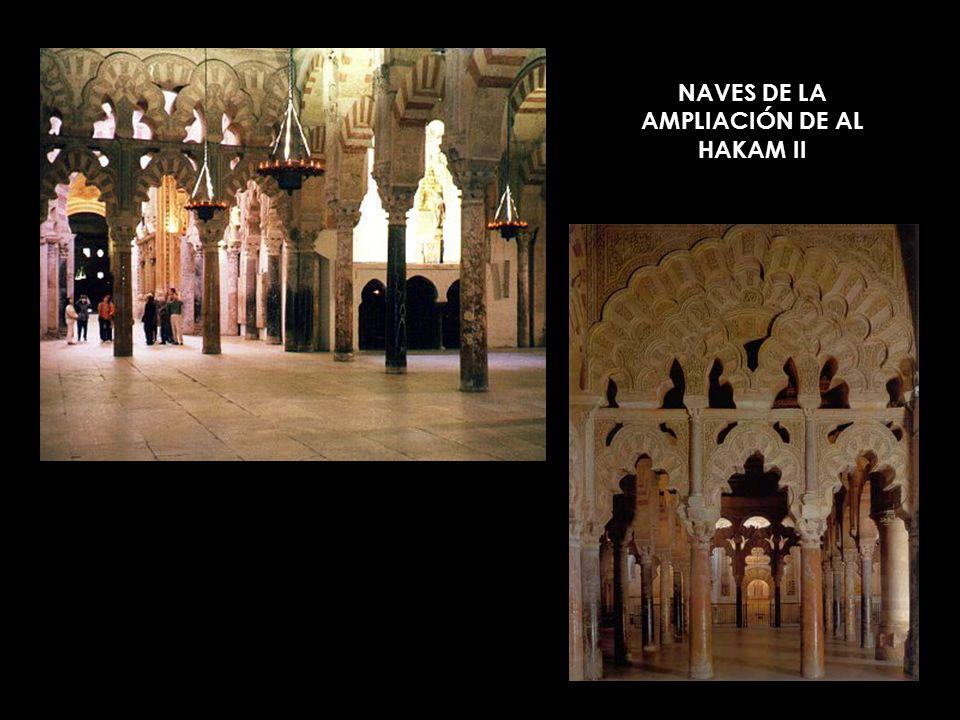 NAVES DE LA AMPLIACIÓN DE AL HAKAM II
