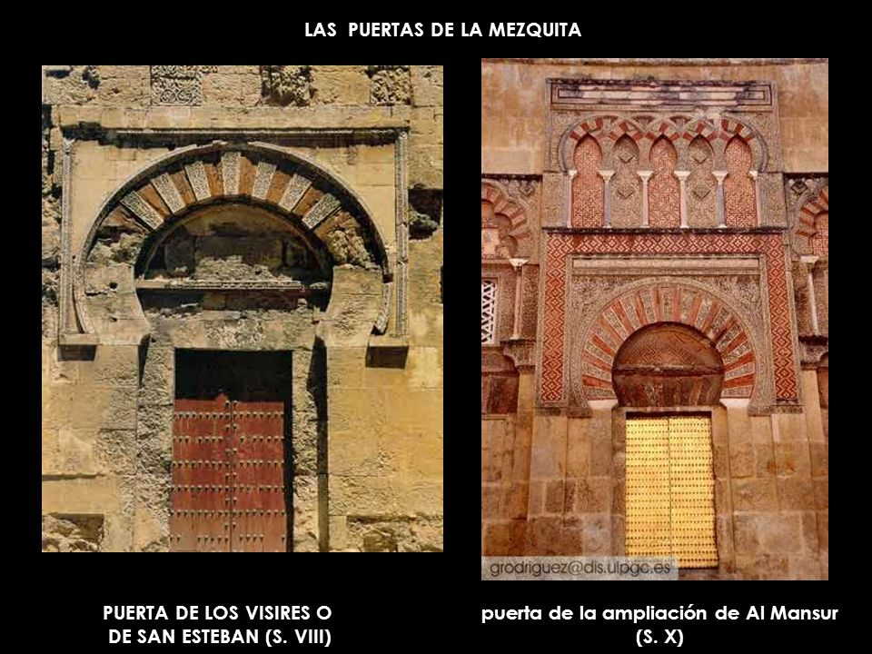LAS PUERTAS DE LA MEZQUITA