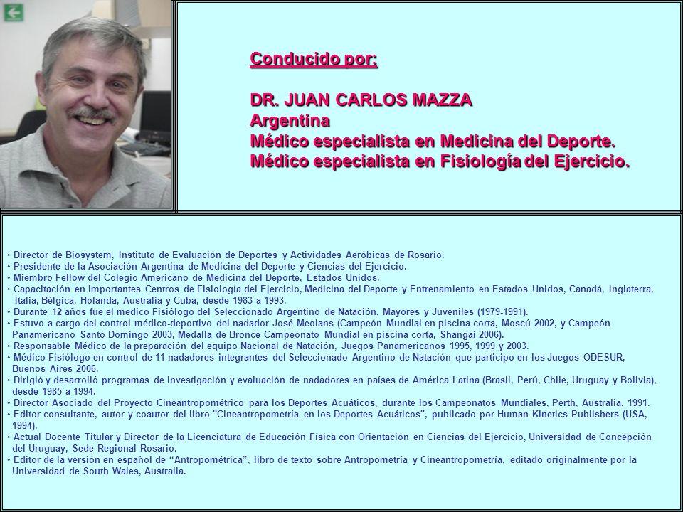 Médico especialista en Medicina del Deporte.