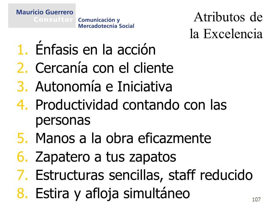 Atributos de la Excelencia