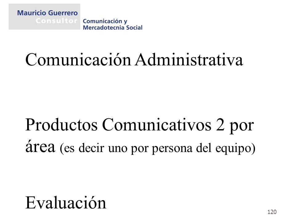 Comunicación Administrativa