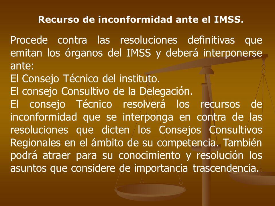 El Consejo Técnico del instituto.