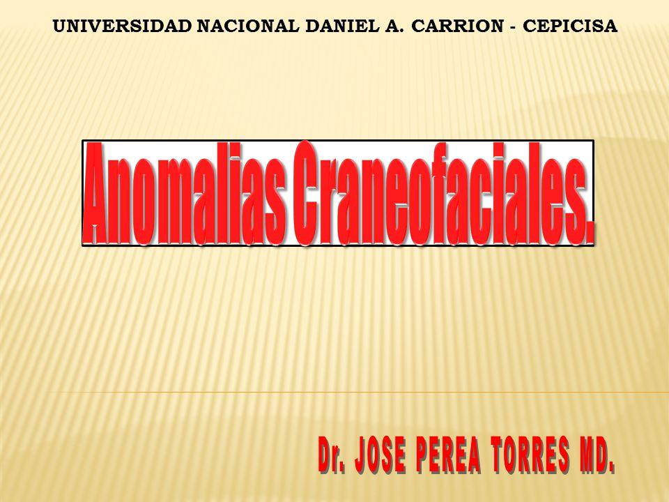 Anomalias Craneofaciales.
