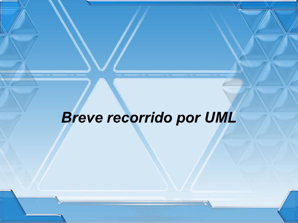 Breve recorrido por UML