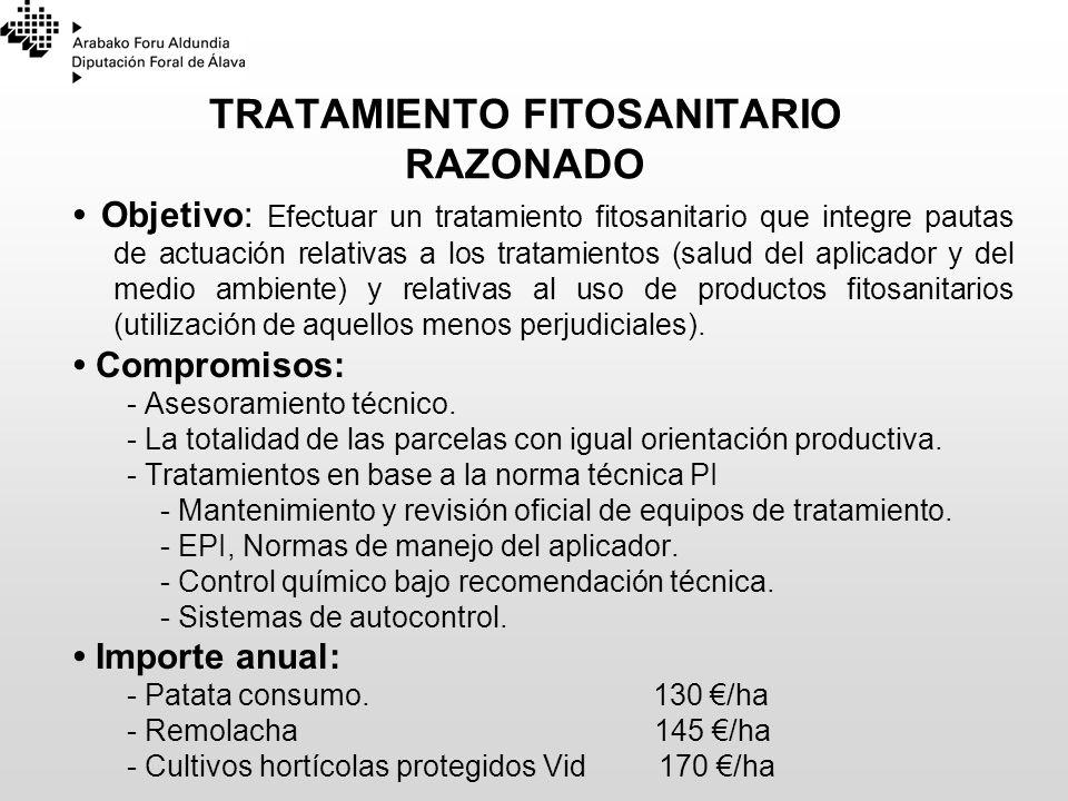 TRATAMIENTO FITOSANITARIO RAZONADO
