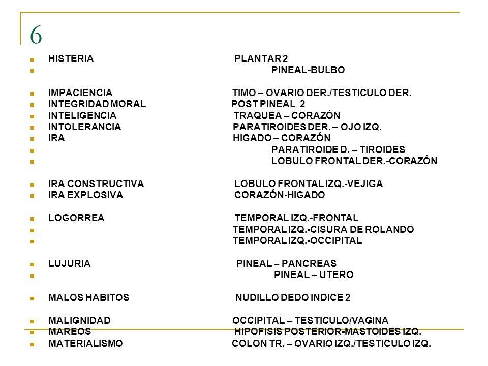 6 HISTERIA PLANTAR 2 PINEAL-BULBO