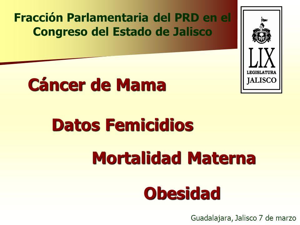 Fracción Parlamentaria del PRD en el Congreso del Estado de Jalisco