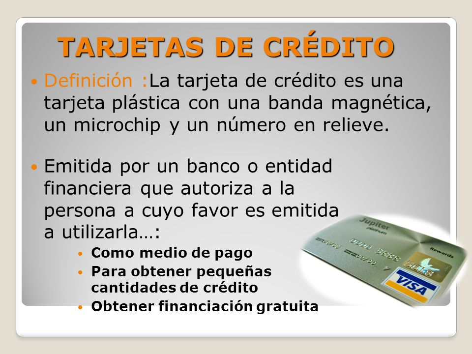 financieras que den creditos