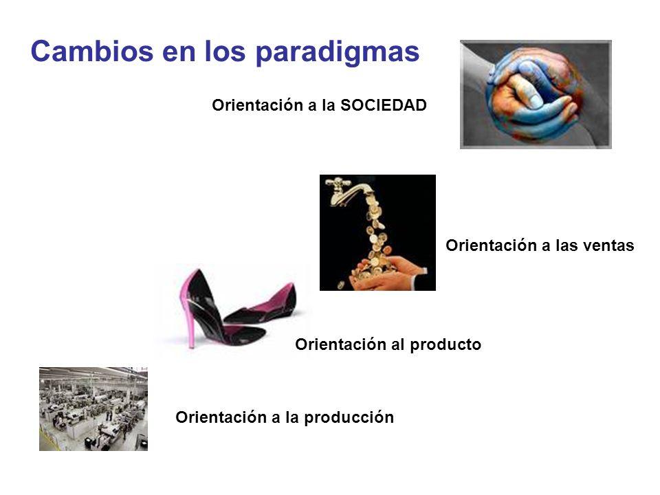 Cambios en los paradigmas