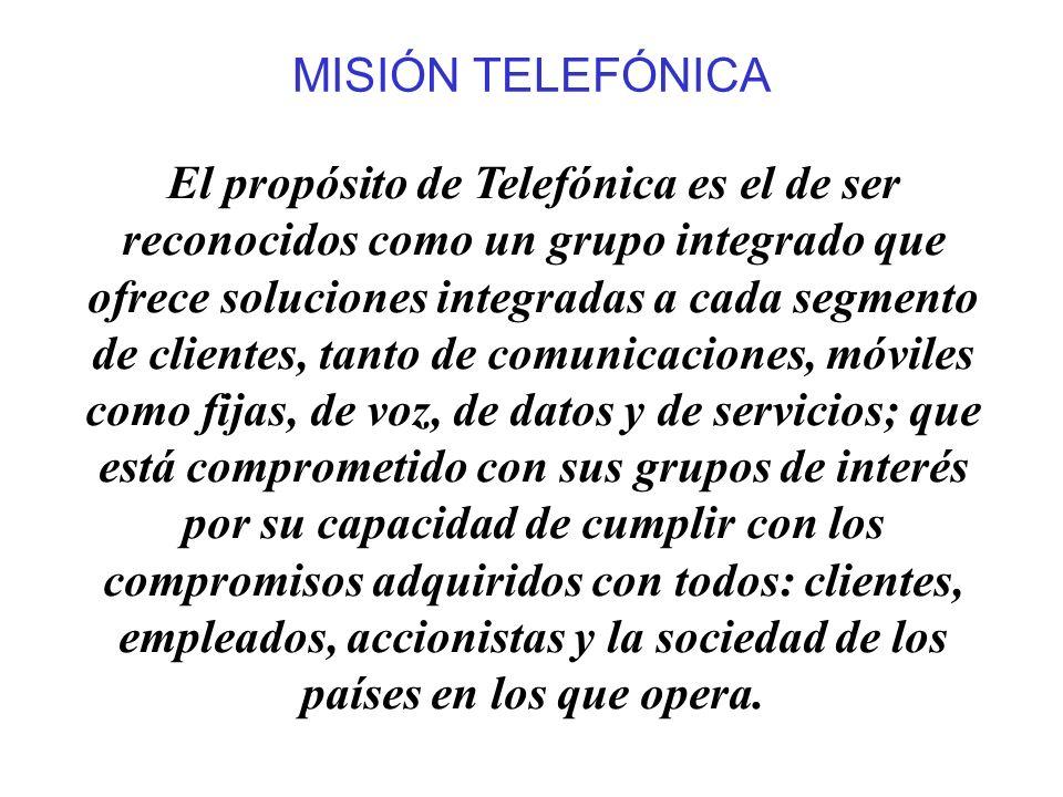 MISIÓN TELEFÓNICA