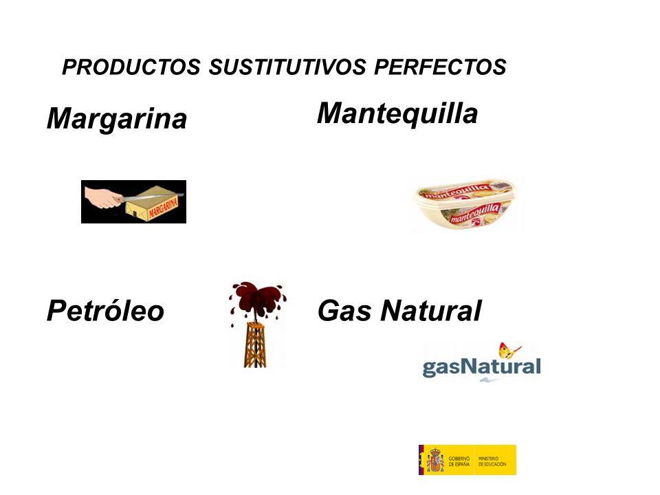 Mantequilla Margarina Petróleo Gas Natural