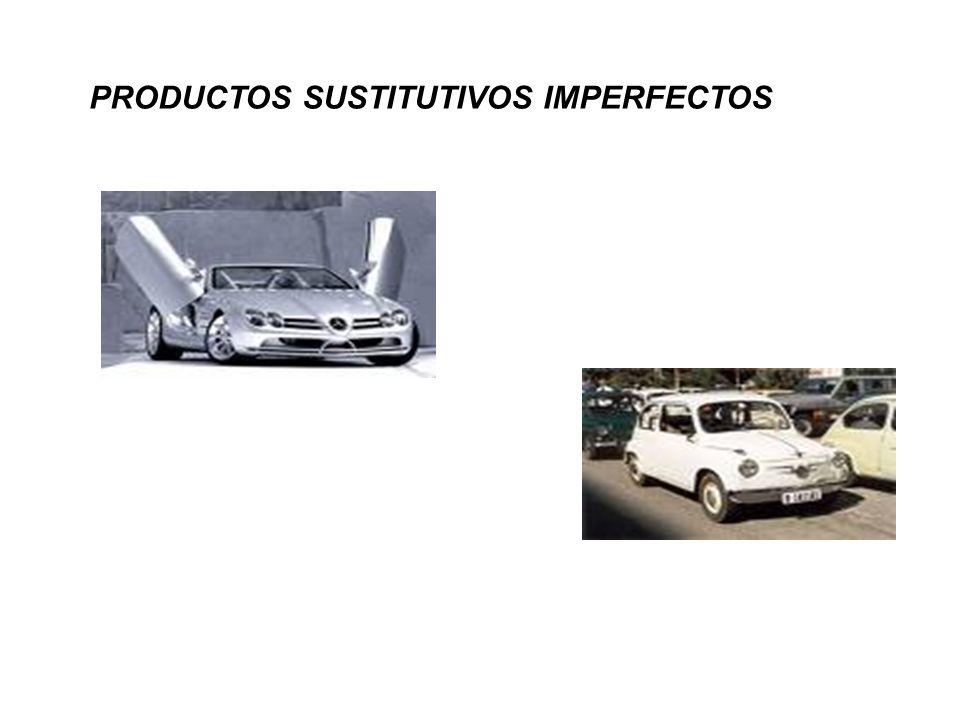 PRODUCTOS SUSTITUTIVOS IMPERFECTOS