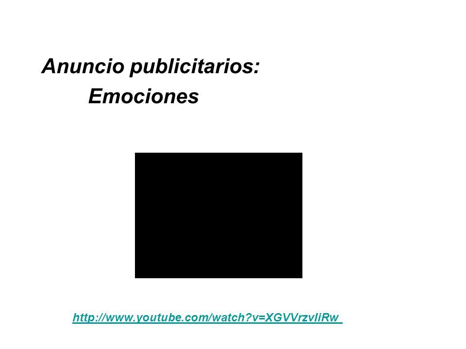 Anuncio publicitarios: Emociones