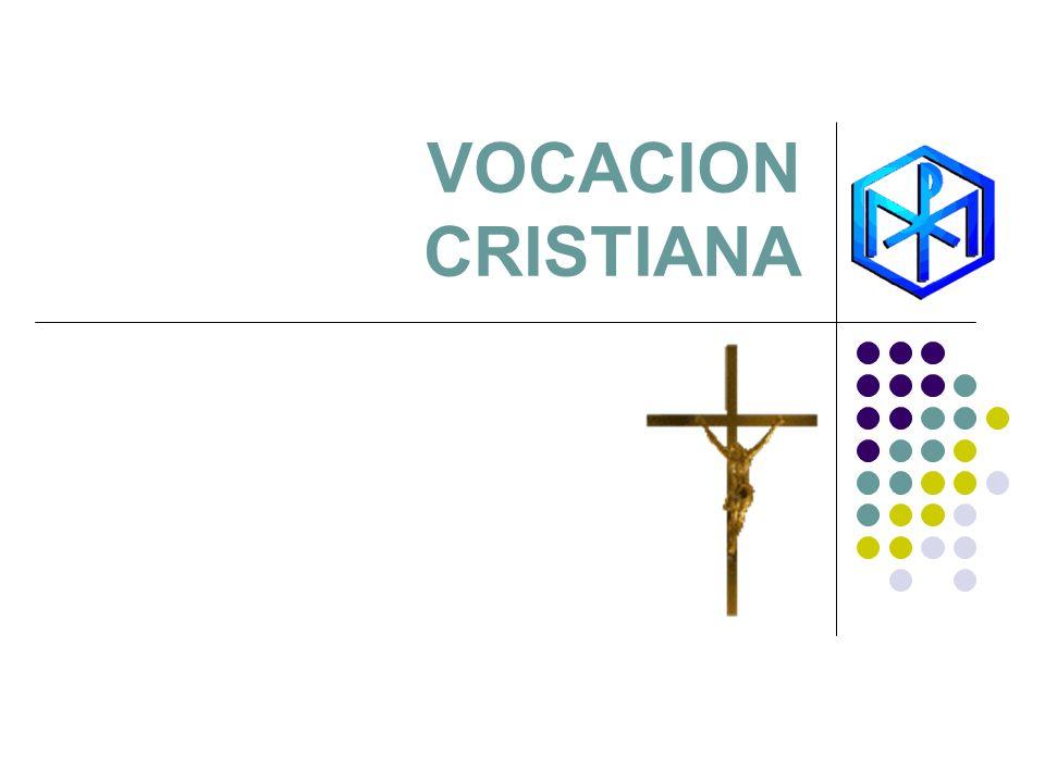 VOCACION CRISTIANA