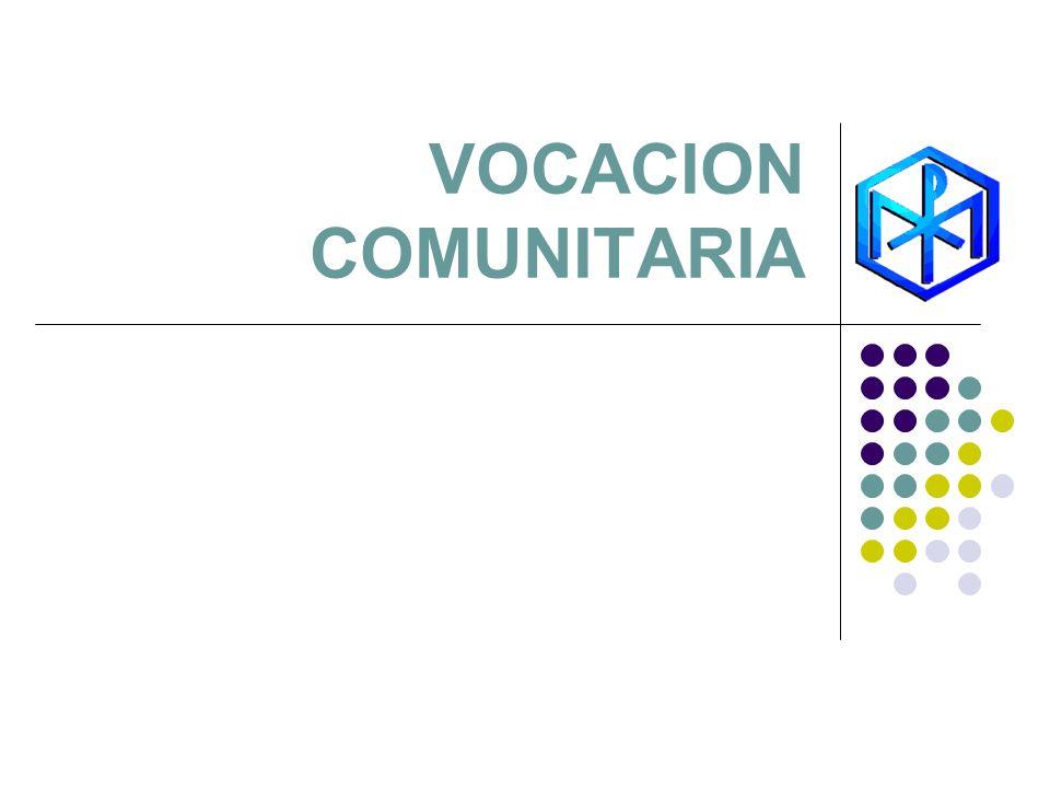 VOCACION COMUNITARIA
