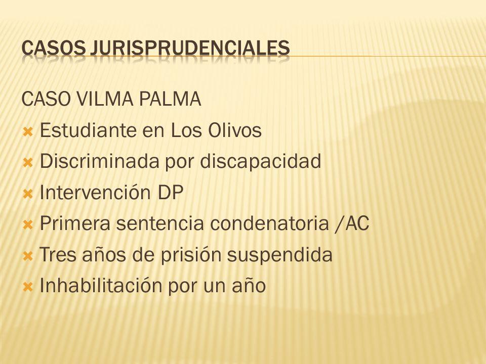 CASOS JURISPRUDENCIALES
