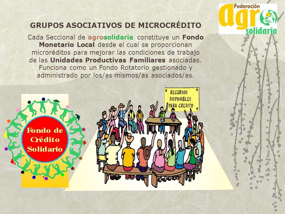 GRUPOS ASOCIATIVOS DE MICROCRÉDITO