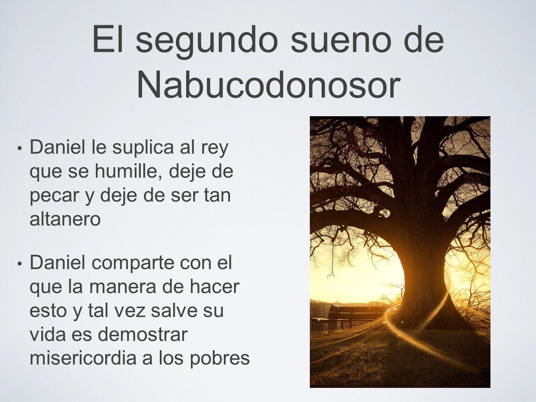 El segundo sueno de Nabucodonosor
